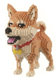 Diamond blocks hondje (1800 blokjes)