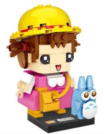 Diamond blocks meisje met hoed  (165 blokjes)