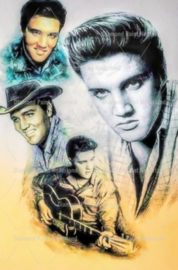 Diamond painting Elvis Presley (70x50cm)(full)