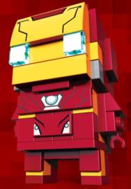 Diamond blocks wonder iron man (+/- 70 blokjes)