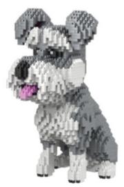 Diamond blocks lief hondje (2100 blokjes)