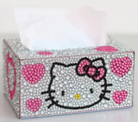 Diamond painting Tissue box