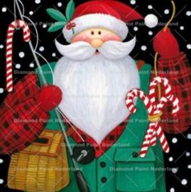 Kerst man (II) 30 x 30 cm (full)