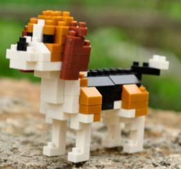 Diamond blocks beagle (129 blokjes)