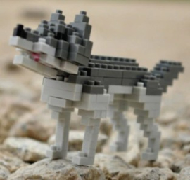 Diamond blocks wolf (139 blokjes)