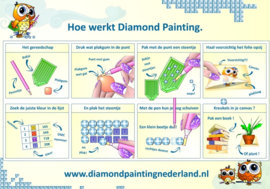 Custom diamond painting / eigen foto (30x25cm)