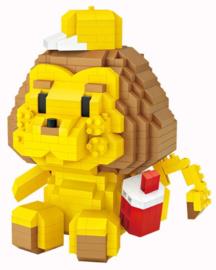 Diamond blocks leeuw (680 steentjes)