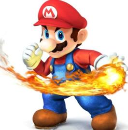 Diamond painting Mario (20x20cm)