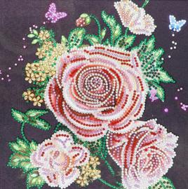 Diamond Painting rozen (25x25cm)