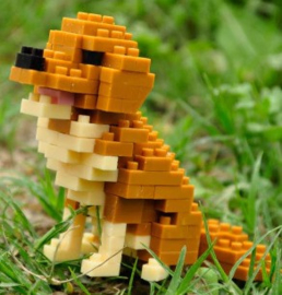 Diamond blocks Golden Retriever (145 blokjes)