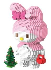 Diamond blocks lief konijntje (1315 blokjes)