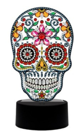 Diamond painting ledverlichting skull (verschillende kleuren led)