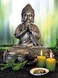 Diamond Painting mooie Boeddha (60x45cm)(full)