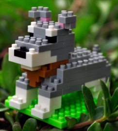 Diamond blocks Schnauzer (83 blokjes)