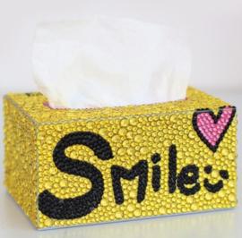 Diamond painting tissue box (zelf nog te painten)