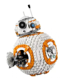 Diamond blocks BB8 star wars (1238 blokjes)