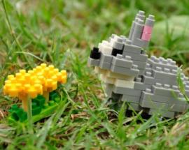 Diamond blocks konijntje (118 blokjes)