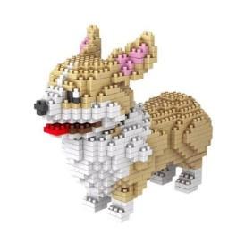 Diamond blocks hondje (950 steentjes)