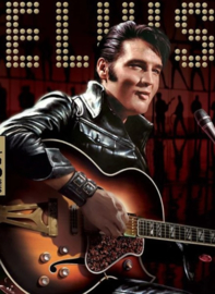 Diamond painting Elvis Presley (60x45cm)(full)