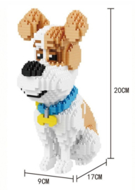 Diamond blocks hondje zittend (1350 blokjes)