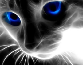 Diamond painting blue eyes (50x40cm)(full)