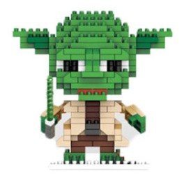 Diamond blocks Yoda (267 blokjes)