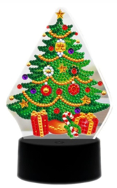 Diamond painting ledverlichting kerstboom (verschillende kleuren led)