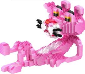 Diamond blocks Pink Panter ligt  (896 blokjes)