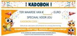 Diamond Paint Nederland Kadobon € 10,00