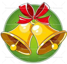 Kerst klokken 20 x 20 cm (full)