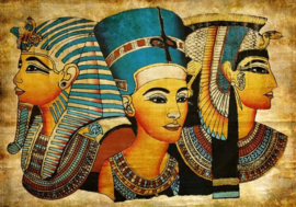 Diamond painting oud Egypte (60x40cm)(full)