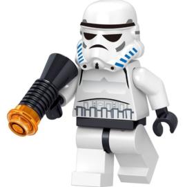 Diamond blocks star wars stormtrooper