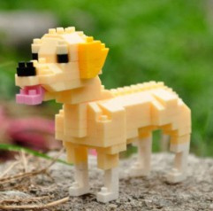 Diamond blocks labrador (146 blokjes)