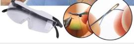 Vergrootglas bril voor diamond painting