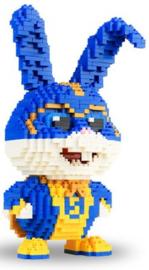 Diamond blocks super konijn (1179 blokjes)