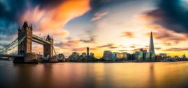 Diamond painting skyline London (70x40cm)(full)
