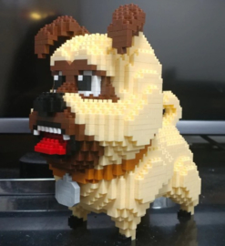 Diamond blocks bulldog (640 blokjes)