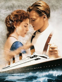 Diamond painting titanic love (60x45cm)(full)