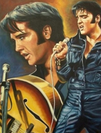 Diamond painting Elvis (60x40cm)(full)