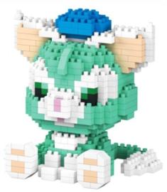Diamond blocks groen poesje (448 blokjes)