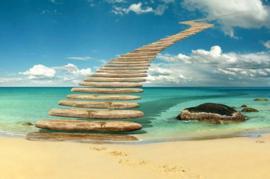 Diamond painting stairway to heaven (60x40cm)(full)