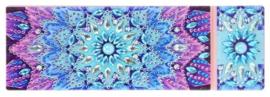 Diamond painting opbergdoosje (mandala blauw)