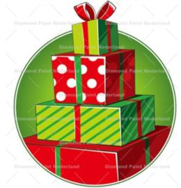 Kerst cadeautje 20 x 20 cm (full)