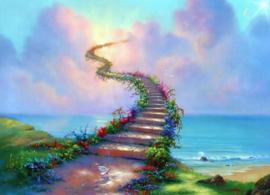 Diamond painting way to heaven (60x40cm)(full)