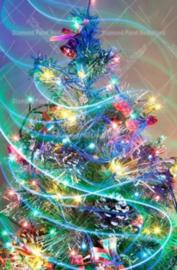 Diamond Painting kerstboom (60x45cm)(full)