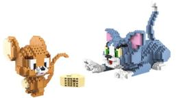 Diamond blocks Tom & Jerry (1524 blokjes)