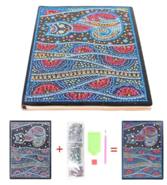 Diamond painting notitie boek (poes)