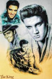 Diamond painting Elvis Presley (90x60cm)(full)