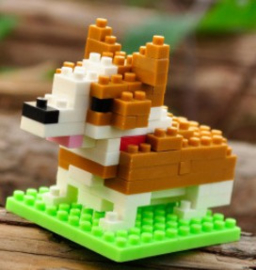 Diamond blocks Corgi (82 blokjes)