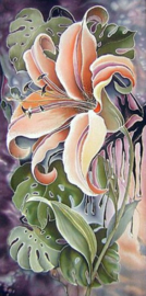 Diamond painting prachtige bloem (60x30cm)(full)
